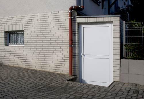 Nachträglicher Einbau einer Tür für den Kellerbereich