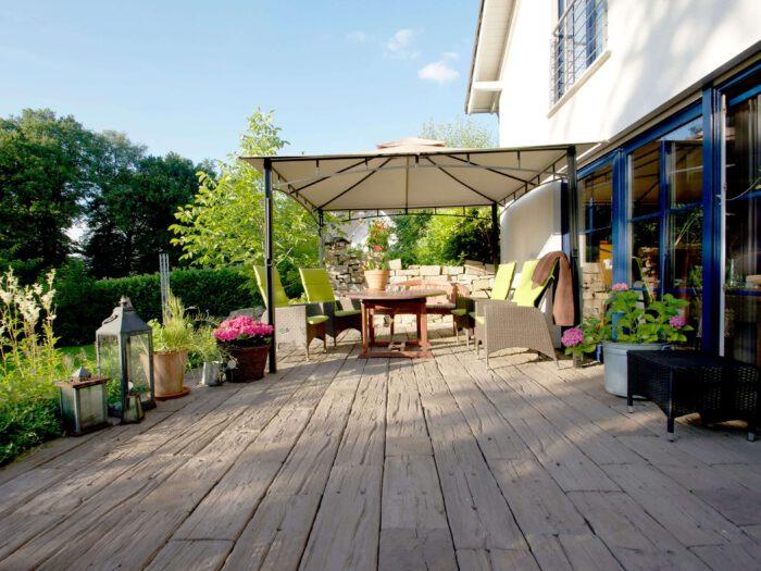 Schöne Terrassen anlegen & gestalten